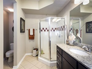 Bathroom at Listing #140640