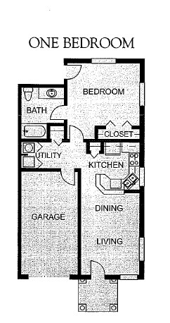 655 sq. ft. 50% floor plan