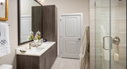 Bathroom at Listing #332142
