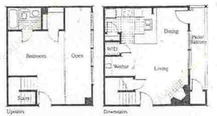 727 sq. ft. A4 floor plan