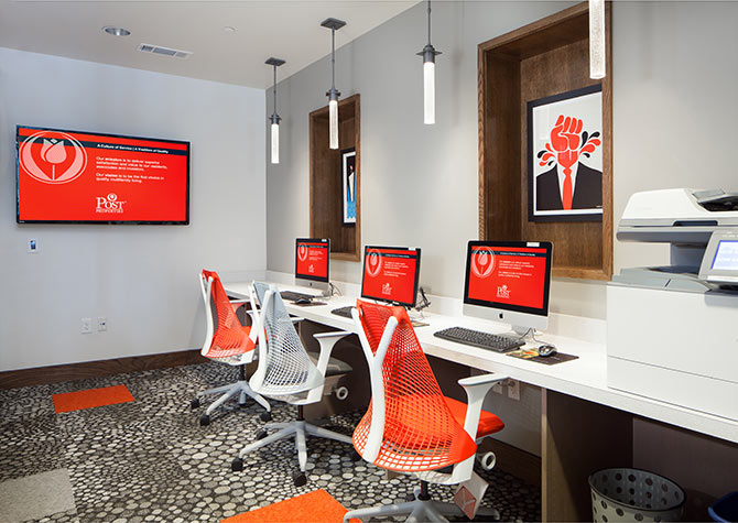 Business Center at Listing #152725
