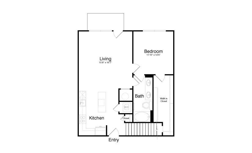 1,631 sq. ft. TH1 floor plan