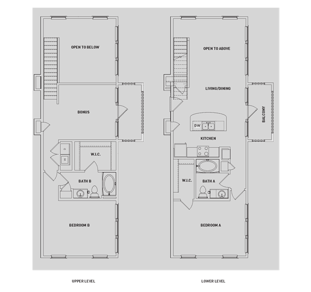 1,503 sq. ft. BB5-TH floor plan