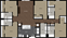 1,886 sq. ft. 5B3 floor plan