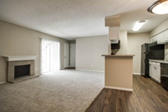 Living/Kitchen at Listing #135846