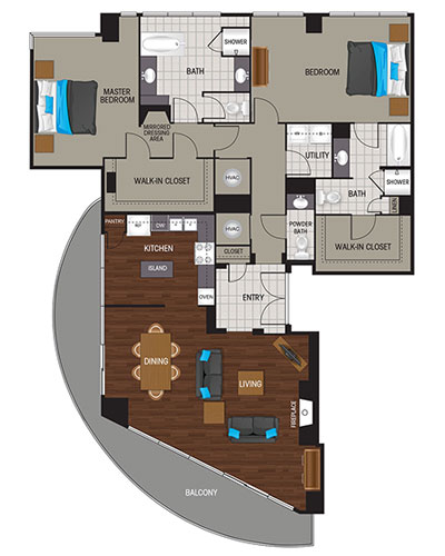 1,937 sq. ft. Platinum floor plan