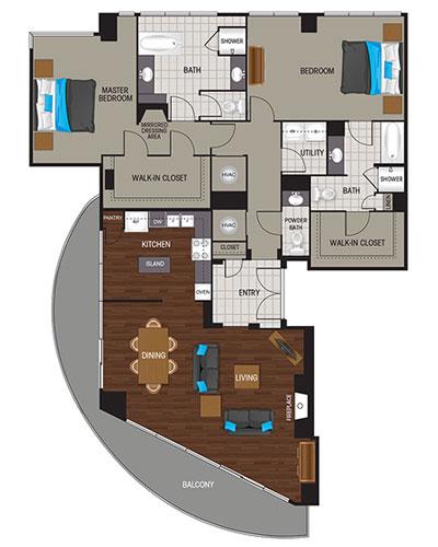 1,937 sq. ft. Platinum floor plan