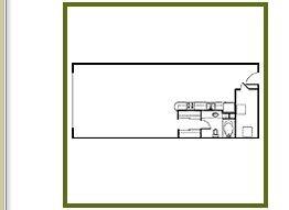 1,045 sq. ft. a14 floor plan