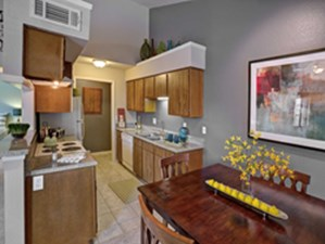 Dining/Kitchen at Listing #136438