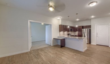 Living/Kitchen at Listing #291849