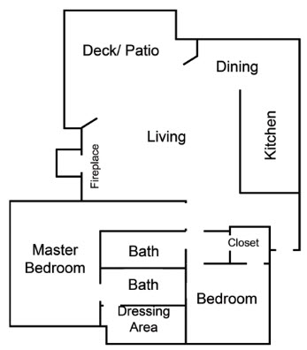 1,510 sq. ft. I floor plan