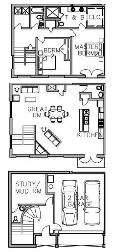 2,455 sq. ft. floor plan