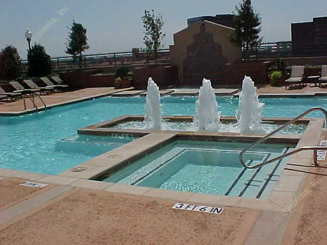 Pool area at Listing #138082