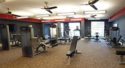 Fitness Center at Listing #153269