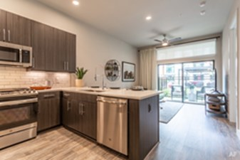Living/Kitchen at Listing #307564