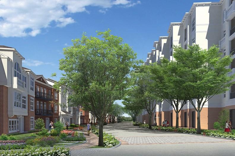 Camden Highland Village Townhomes