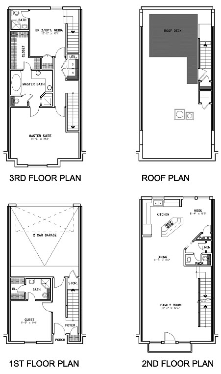 2,030 sq. ft. Floor Plan B floor plan