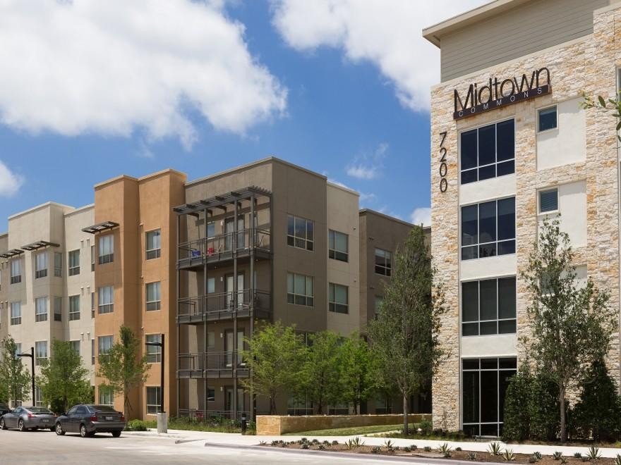 Midtown Commons at Crestview Station Apartments Austin TX