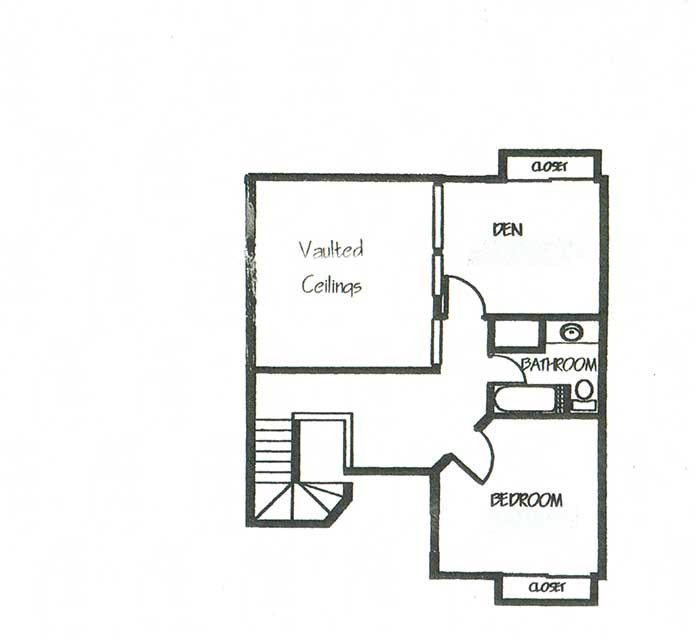 1,535 sq. ft. B5 floor plan