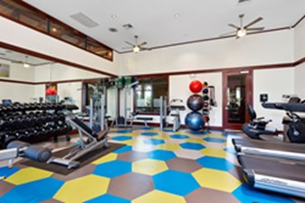 Fitness Center at Listing #144810