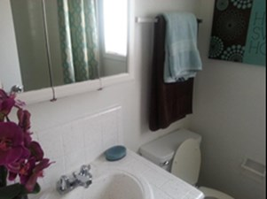 Bathroom at Listing #139482