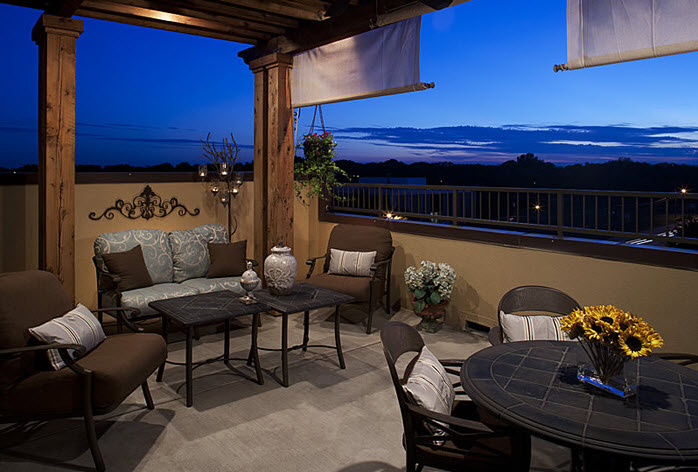 Terrace at Listing #137539