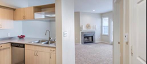 Living/Kitchen at Listing #137576