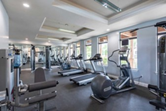 fitness center at Listing #150325