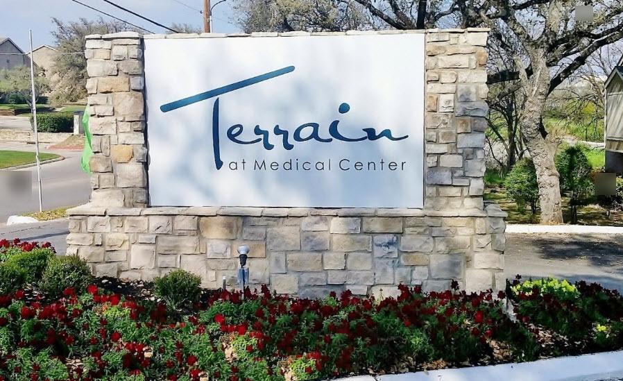 Terrain at Medical Center Apartments San Antonio TX