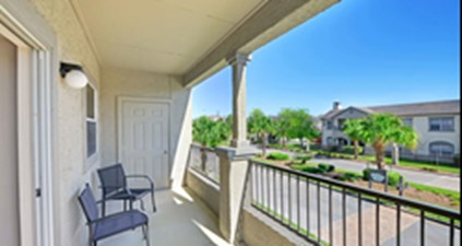 Patio at Listing #138531