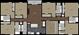 2,697 sq. ft. 6B1-M floor plan
