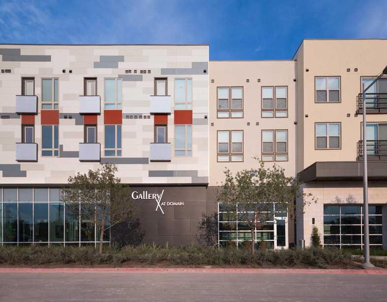 Gallery at Domain I Apartments Austin TX