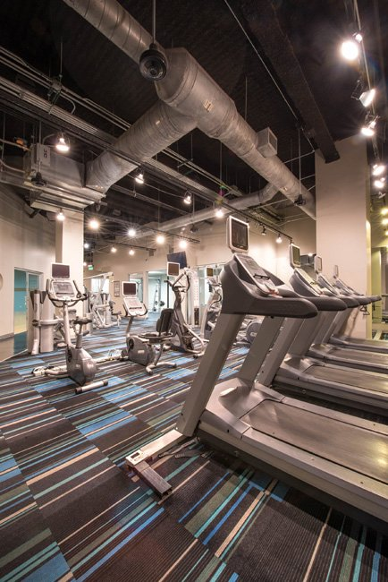 Fitness Center at Listing #144657