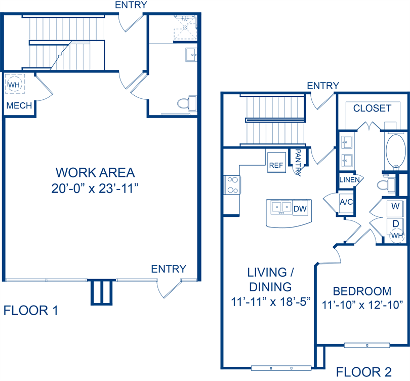 1,481 sq. ft. Manzanilla floor plan
