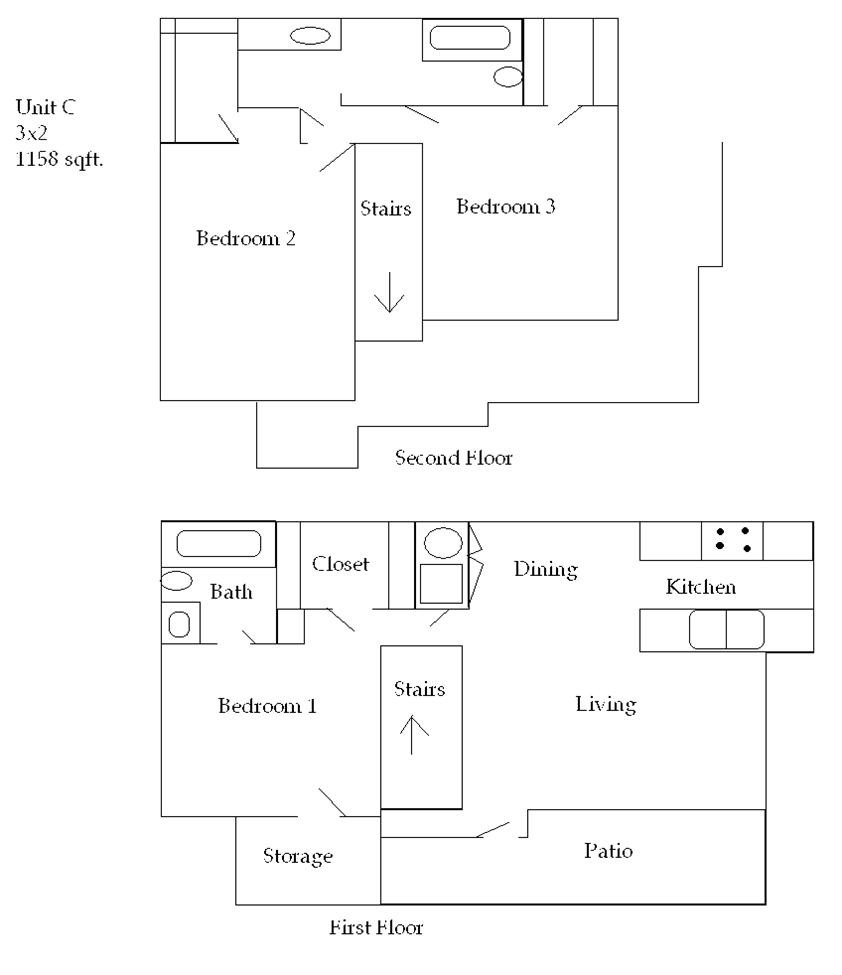 1,178 sq. ft. 50 floor plan