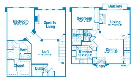 1,917 sq. ft. L4.1 floor plan