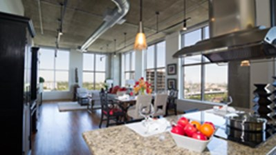 Living/Dining at Listing #144130