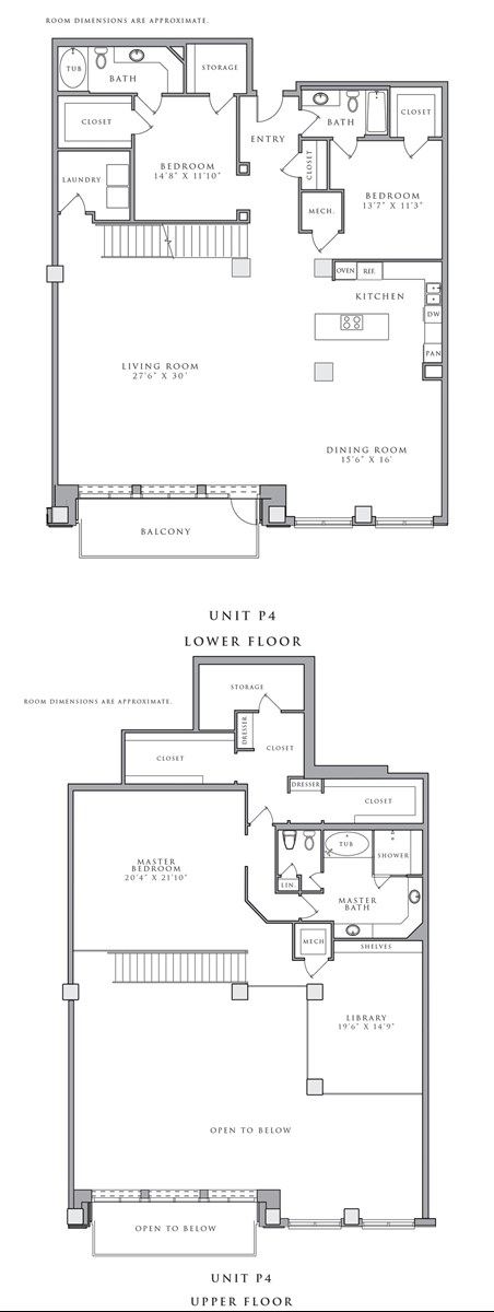 3,831 sq. ft. P4 floor plan