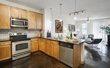 Kitchen at Listing #146768