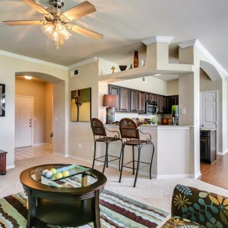 Living/Kitchen at Listing #137574