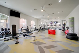 Fitness Center at Listing #144093