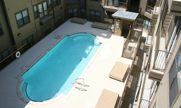 Pool at Listing #239544