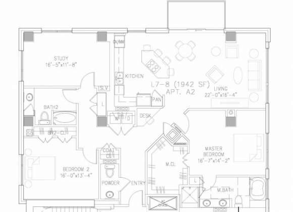 1,942 sq. ft. B12 floor plan