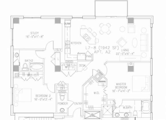 1,942 sq. ft. B12 floor plan