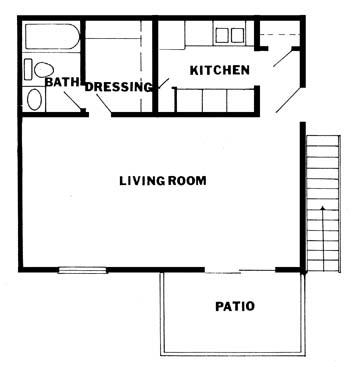 504 sq. ft. floor plan