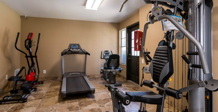Fitness Center at Listing #140183