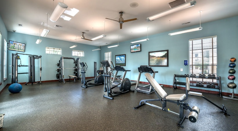 fitness center at Listing #149819