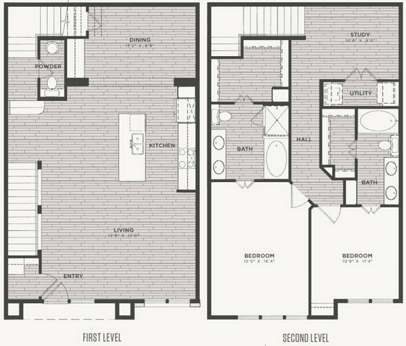 1,748 sq. ft. B3 floor plan