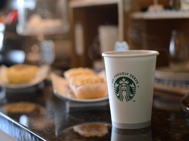 Now Serving Starbucks Coffee! at Listing #225062