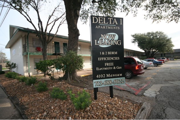 Delta One ApartmentsHoustonTX